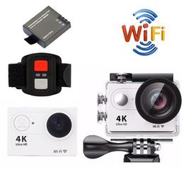 "mini 32 gb 2019 - H9R Action camera H9R Ultra HD 4K   25fps WiFi 2.0"" 170D underwater waterproof Helmet Cam camera Sport cam"