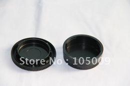 Dslr Camera Cap Australia - Rear Lens Cap   Cover+Camera Body Cap for AI DSLR Camera