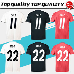 4d2ee618a Real Madrid 3rd Jersey UK - Real Madrid home white Soccer Jersey 18 19 Real  Madrid