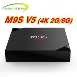 Media Player Australia - Best HOt M9S V5 RK3229 Android TV Boxes 4K 2GB 8GB 4K H.265 Hardware Video Decode Quad-core Media Player