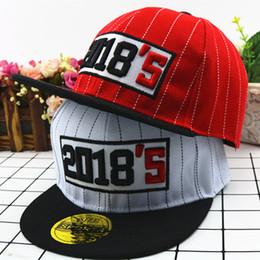 d3cb59ec52f701 2018 embroidery new children's baseball cap outdoor flat hip hop cap Korean  pupils boy girl summer sun hat photography props