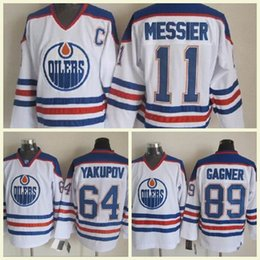 6839bb847 Stitched Edmonton Oiler 7 Paul Coffey 17 Jari Kurri 31 Grant Fuhr 89 Sam  Gagner 99 Wayne Gretzky Ice Hockey Jerseys Ice Mix Order