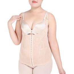 8724a7bf8a Plus Size Shapewear for Women Tummy Control Slimming Underwear Camisole  Plus Size Body Shaper Corset Waist Trainer shape wear