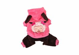 $enCountryForm.capitalKeyWord UK - free shipping Fashionable Pet Dog Cat Clothes Cartoon Soft Warm Velvet Puppy Autumn Winter Coat Cosplay Costume dog apparel