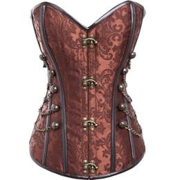 312dce44e Ladies Leather Corsets UK - Fashion Women Bustier Shaper Wear Plus Size 6XL  Leather Sexy Hollow
