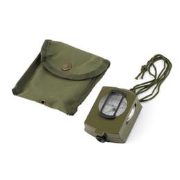 Neue 1 PC Berufsarmee-Außengebrauch-Militärgeologie-Taschen-prismatischer Kompass-Beutel im Angebot