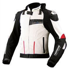 xxl size motorcycle jackets 2019 - 2018 new motorcycle protective jacket breathable mesh racing jacket men's road riding 2 color size M-3XL discount x