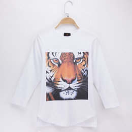 $enCountryForm.capitalKeyWord Canada - 2018 Children T-shirt Animals High Quality Tiger 3D HD Print Cotton Full Long Boy T Shirts Kids Clothes Girl Top Baby Clothing Free Shipping