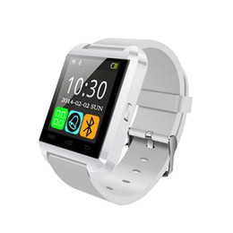 touch watches for men UK - U8 Bluetooth WristWatch Smart Watch Phone sport watch Touch Screen men for Android OS and IOS Smartphone Samsung Smartphone