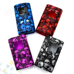 Skull S online shopping - Skull Silicone Case S PRIV W Silicon Skull Head Bag Colorful Rubber Sleeve Protective Cover silica Skin For S Priv DHL Free
