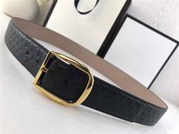 $enCountryForm.capitalKeyWord NZ - Top Quality Luxury Men Belt with Original Box Gold Silver Pin Buckle Genuine Leather Belt G Designer Cowhide Waist Belt Strap Printed Girdle