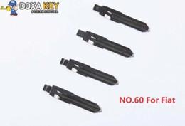 $enCountryForm.capitalKeyWord NZ - (10pcs) NO.60 Car Key Blade Flip Remote Key Blank For Fiat