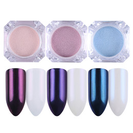 $enCountryForm.capitalKeyWord UK - BORN PRETTY 3 Colors Mirror Pearl Nail Powder Set Glitter Nail Art Dust Shining Mermaid Makeup Powder Decorations Kit