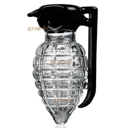 China Hand pipe glass pipe handwork grenade pipes heady tobacco herbal herb amazing hitman drop shipping accept cheap amazing drops suppliers