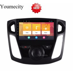 android car stereo ford focus Australia - Android 8.1 Car DVD For Ford Focus 3 2012 2013 2014 2015 GPS Radio Video Multimedia Player Capacitive IPS Screen RDS
