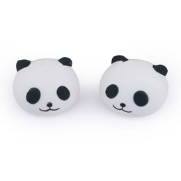 Big Toys White NZ - Kawaii Squishies Emoji Big Eyes Panda Head Bread Squishy Toy 8CM Slow Rebound Scented Food Squeeze Decompression Toys Gifts