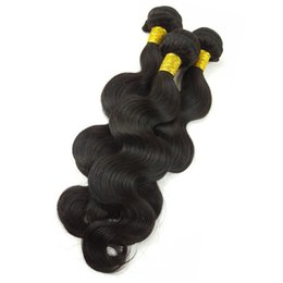 Discount weaves for african hair - 8A Grade Brazilian Body Wave Human Hair Bundles Weave Human Bundles Brazilian Virgin Hair For African Americans Women 3
