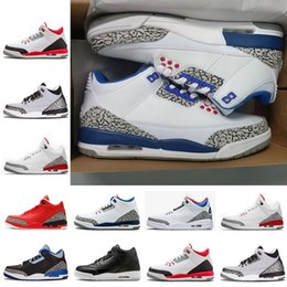 $enCountryForm.capitalKeyWord NZ - 2018 Leather III Korea Man Women Basketball Shoes IIIs Limited Shoes White Seoul Sports Sneakers top Quality size 41-47