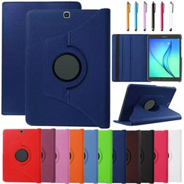 $enCountryForm.capitalKeyWord Canada - 360 Rotating PU leather Case Cover For Samsung Galaxy Tab S2 9.7 T810 T815 Tablet Case Smart Stand + Pen