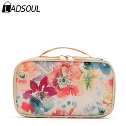 H Case UK - LADSOUL Bag Cosmetic Bag Polyester Female Business Cosmetic Cases Women Make Up Bag Many Pockets Family Cosmetic BagsA3998  h