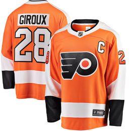 9e148fd32 2018 nhl hockey jerseys cheap custom Men s Philadelphia Flyers Claude  Giroux Fanatics Branded Orange Breakaway Player Jersey store sports