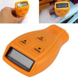 paint coating thickness tester Canada - GM200 paint coating thickness tester diagnostic tool ultrasonic measuring instrument digital car ultrasonic paint instrument