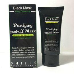 $enCountryForm.capitalKeyWord Australia - 50ml Shills Black Mask Face Mask Blackhead Remover Cleansing Purifying Peel Off The Black Head Acne Treatments Face Mask Skin Care