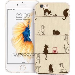 97208d96ce Cat Silicone Iphone 4s Case UK - Coque Funny Cats Kittens Clear Soft TPU  Silicone Phone