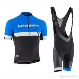 jersey cycling orbea 2019 - ORBEA team Cycling Short Sleeves jersey (bib) shorts sets summer Quick Dry high quality Mountain Bike new Ropa Ciclismo