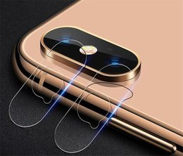 Wholesale For iphone X Rear Camera Lens Flexible Tempered Glass Screen protector For iphone XS XR xs MAX Ultra Slim Soft Fiber Protective Film