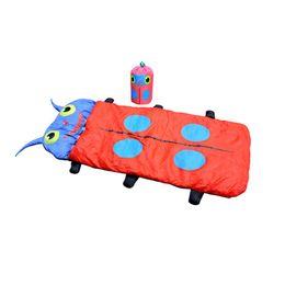 $enCountryForm.capitalKeyWord Australia - Outdoor Travel Camping Sleepover Warm Cartoon Infant Children Insect Beetle Sleeping Bedding Bag Sack Pocket