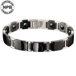 China Noproblem ion antifatigue power choker unicorn bio metal 99.99% pure germanium powder bead men's bracelets supplier metal tv suppliers