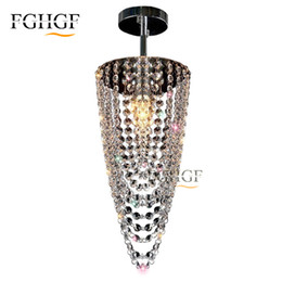 Chinese  Small Crystal Chandeliers Aisle Hallway Mini Crystal Light Lamp for Ceiling Corridor Cristal Lustres Light Chandeliers Free Shipping manufacturers