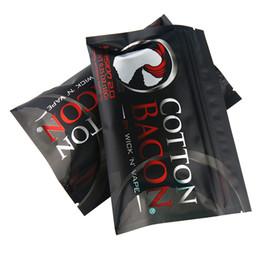 Nouvelle arrivée Wick N vape premier bacon coton vente chaude bricolage coton prime bacon en gros stock pour cigarette électronique en Solde