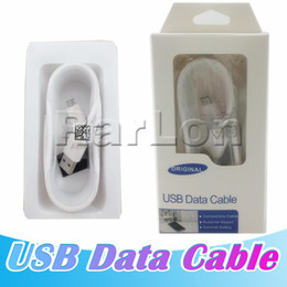 Wholesale Micro USB Data Cable Android Charging Cord Sync Data Charging Charger Cable Adapter For Samsung LG Mobile Phone with Retail Package