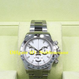 mens swiss chronograph luxury watches 2018 - 9 Style JH Factory Swiss CAL.4130 Movement Luxury 40mm Steel Mens white Chrono Watch 116520 116519 116500LN 116500 Autom