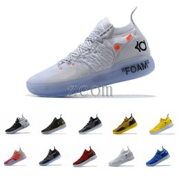 Discount new kevin durant shoes kd - 2018 New Release KD XI 11 Oreo Paranoid Sports Basketball Shoes Top quality Kevin Durant 11s Mens Trainers Designer KD11