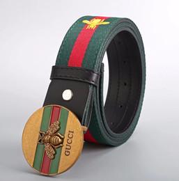 dc771600c Popular Sólidos Cintos Cintura Cintura Masculino Moda Feminina Cinto Casual  de Alta Qualidade Jeans Cinto Fivela de Cabeça de Tigre Cinto de Couro  Genuíno