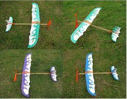 $enCountryForm.capitalKeyWord NZ - Hot sell foam elastic powered glider plane thunderbird kit flying model aircraft toy for kids boys girls gift