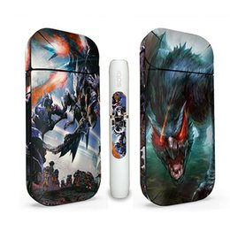 $enCountryForm.capitalKeyWord UK - Newest Sticker For IQOS OEM Wraps For IQOS Box Mod Customized Paper Cover Sticker Electronic Cigarette Accessory Skin