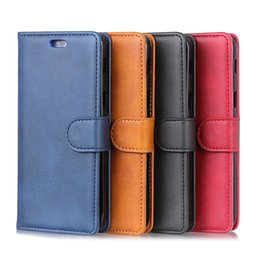 cards slots NZ - Luxury Wallet PU Leather Phone Case For Alcatel 7 5V 1 1C 5009A 3 5052Y 5 5086A 5086Y A7 U5 Plus Alcatel 1X 3V 3X Card Slots With Stand