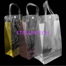 plastic gift pack pouch 2019 - 25*16*8cm pvc clear packing bag gift bag hand bag cosmetic makeup gift shower gel shampoo packing pouch QW8023 discount