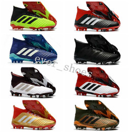 372b9cff963 2018 New Men Predator 18.1 FG Soccer Cleats ace 18+ Youth Mens Mania Soccer  Shoes Football Boots Size 39-45