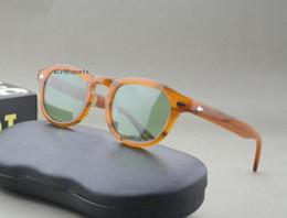 depp sunglasses 2019 - NEW style fashion brand sunglasses johnny black tortoise flaxen red clear frames 3size lemtosh men women depp sunglasses