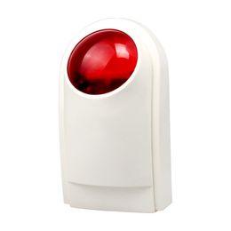 $enCountryForm.capitalKeyWord NZ - 433mhz Wired Siren Outdoor Strobe Flash Siren Smart Home Alarm For Wireless Alarm System Security