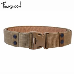 $enCountryForm.capitalKeyWord Canada - [TIMESWOOD] 125CM Belts Men's Adjustable Tactical Belt Canvas Plastic Buckle Automatic  Waistband Army Girdle For Men