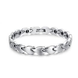 $enCountryForm.capitalKeyWord NZ - Drop shipping brand new top quality unisex 316L stainless steel bracelet magnets bracelets hematite fashion jewelry factory supplier 081