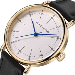 new glasses trends Canada - wengle New MINI FOCUS classic Simple trend Selling waterproof decoration Tempered glass Genuine Leather Japanese movement Quartz watch