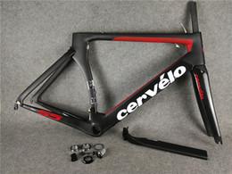 Road Bicycles Frames Australia - Red Cervelo s5 carbon bike frame Full carbon fiber Road Bike frame road bike bicycle frame cadre velo carbone sell