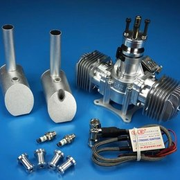 $enCountryForm.capitalKeyWord Canada - DLE 60 RC model gasoline engine DLE60 twin-cylinder two-stroke side exhaust natural wind-cooled hand start 60CC displacement